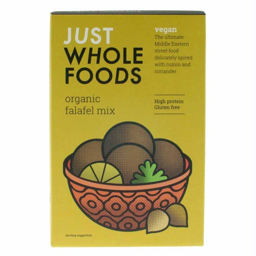 Just Wholefoods Organic Falafel Mix (120g)