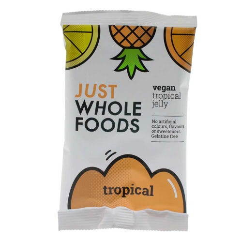 Just Wholefoods Vegan Tropical Jelly Crystals (85g)