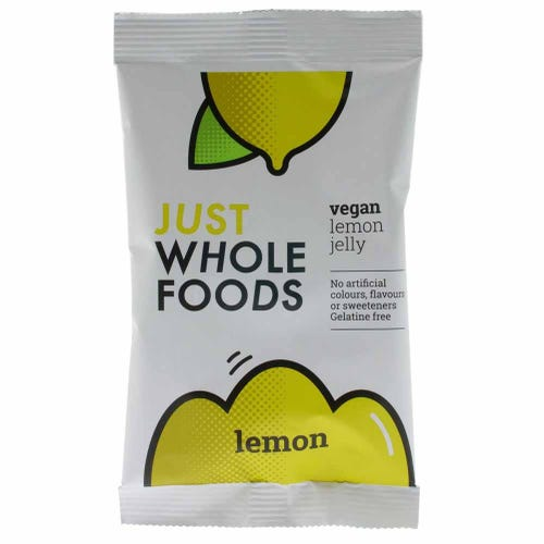 Just Wholefoods Vegan Lemon Jelly Crystals (85g)