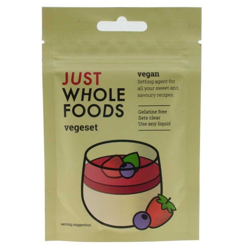 Just Wholefoods Vegeset Gelatine Replacer (25g)