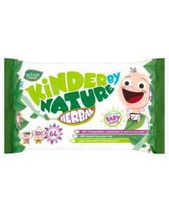 Kinder By Nature Herbal Baby Wipes (64)