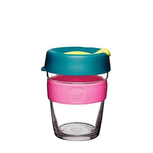 KeepCup Glass Coffee Cup - Atom (12oz)