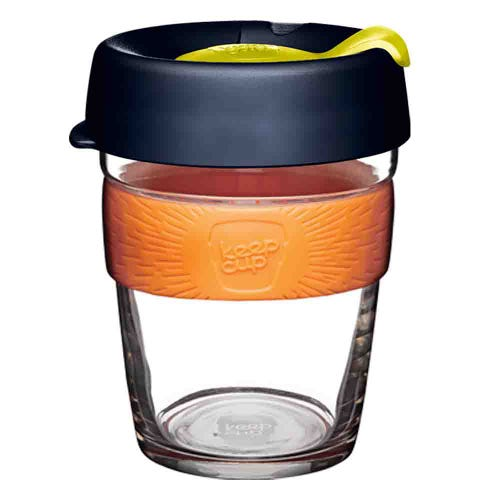 KeepCup Glass Coffee Cup - Banksia (12oz)