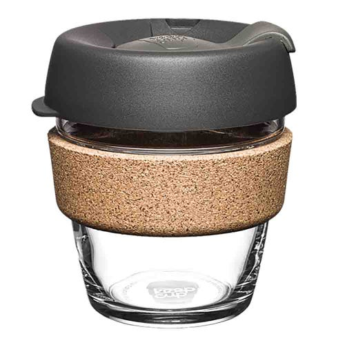KeepCup Glass Coffee Cup with Cork - Nitro (6oz)
