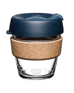 KeepCup Glass Coffee Cup with Cork - Spruce (6oz)