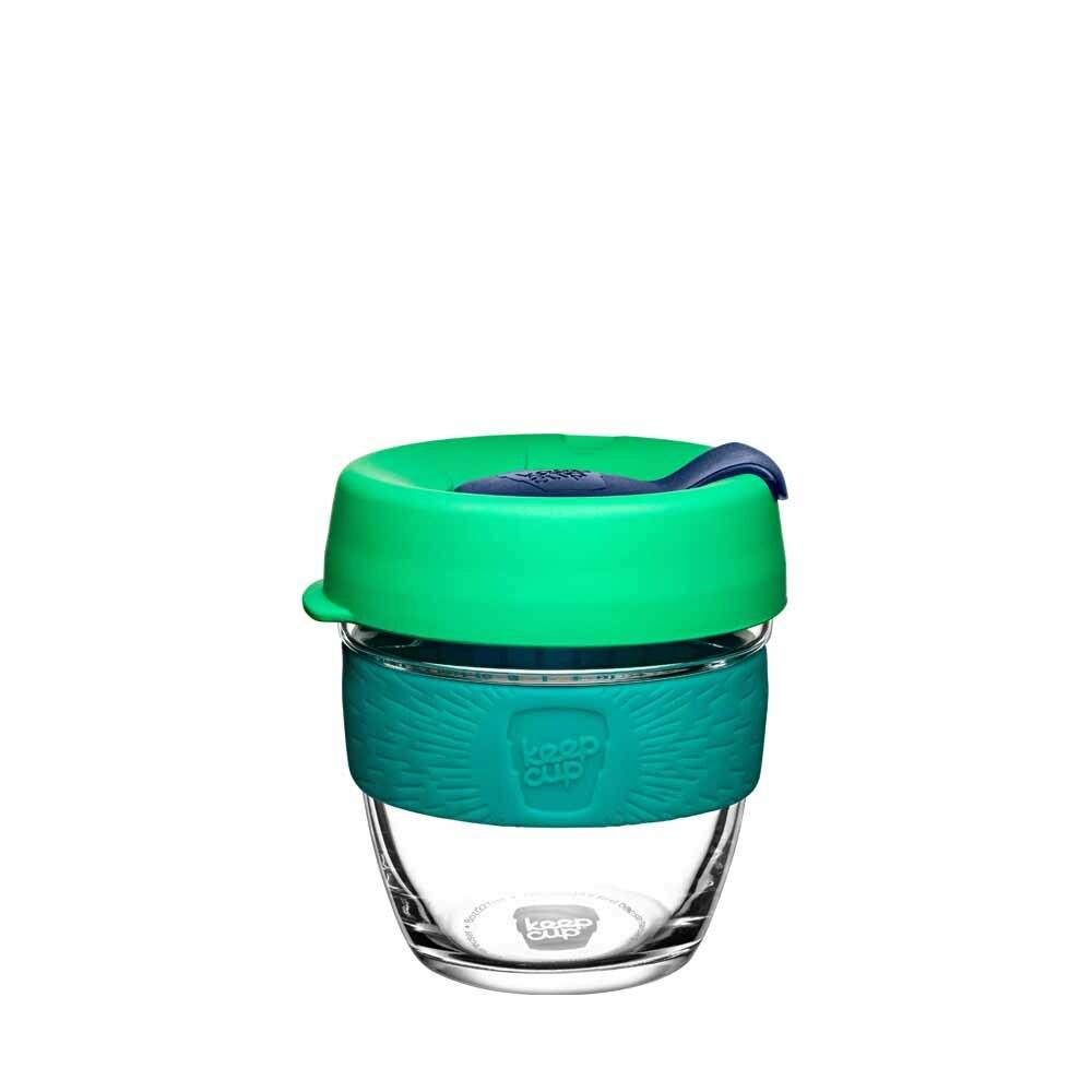 KeepCup Glass Coffee Cup - Floret (8oz)