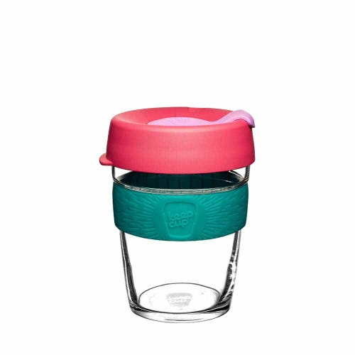 KeepCup Glass Coffee Cup - Velocity (12oz)