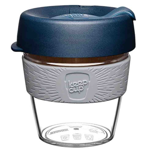KeepCup Original Clear Coffee Cup Andean (8oz)