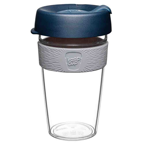 KeepCup Original Clear Coffee Cup Andean (16oz)