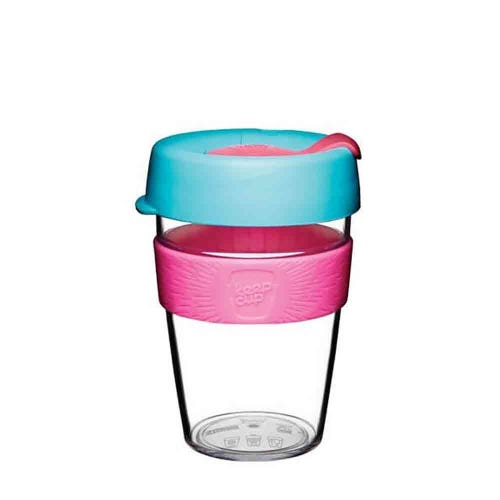 KeepCup Original Clear Coffee Cup Radiant (12oz)