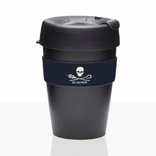 KeepCup Sea Shepherd Original Coffee Cup (12oz)