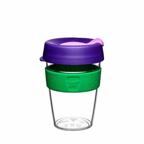 KeepCup Original Clear Coffee Cup Spring (12oz)