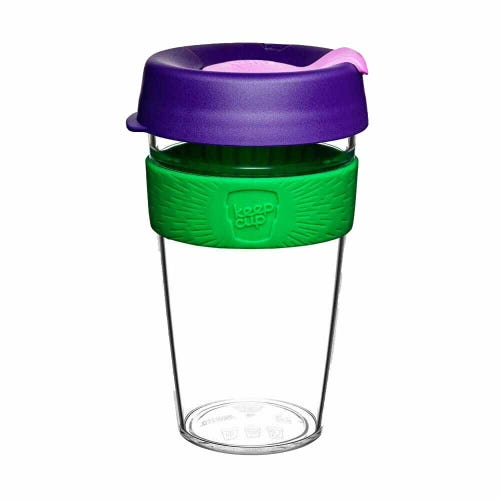 KeepCup Original Clear Coffee Cup Spring (16oz)