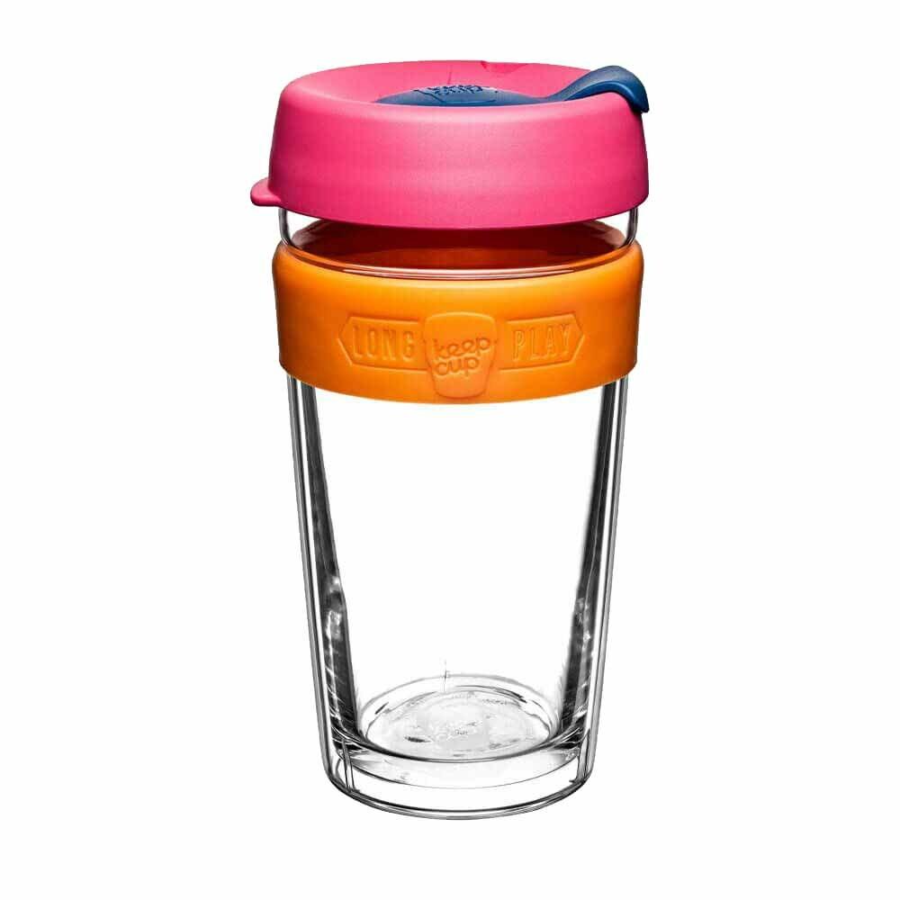 KeepCup LongPlay Glass Coffee Cup - Aura (16oz)