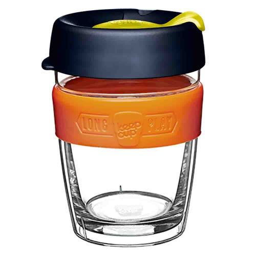 KeepCup LongPlay Glass Coffee Cup - Banksia (12oz)