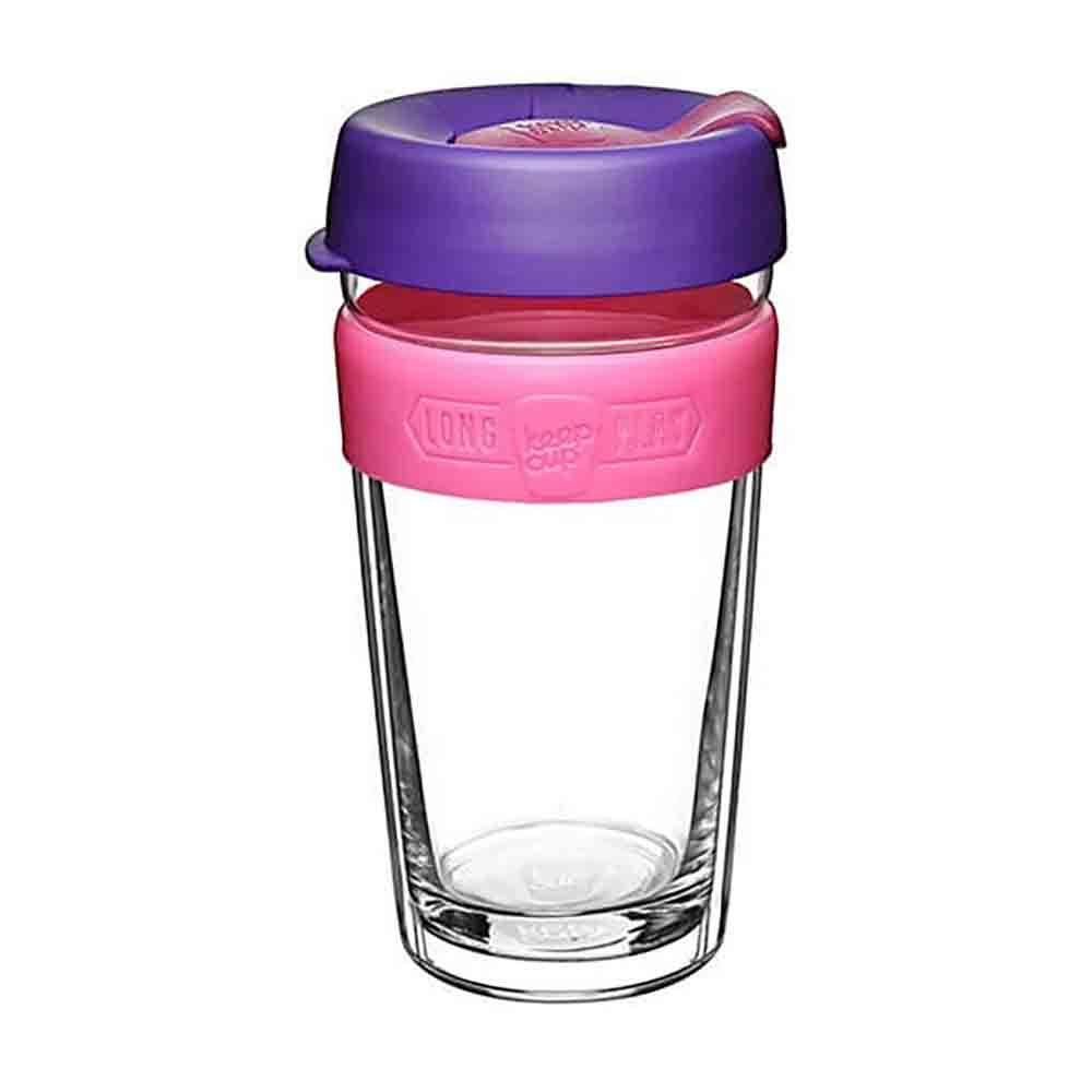 KeepCup LongPlay Glass Coffee Cup - Bloom (16oz)