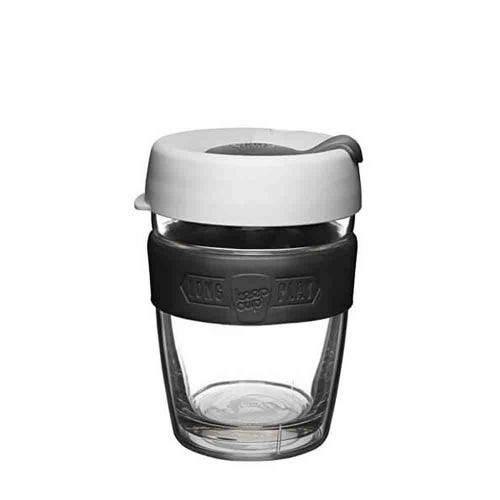 KeepCup LongPlay Glass Coffee Cup - Rosetta (12oz)
