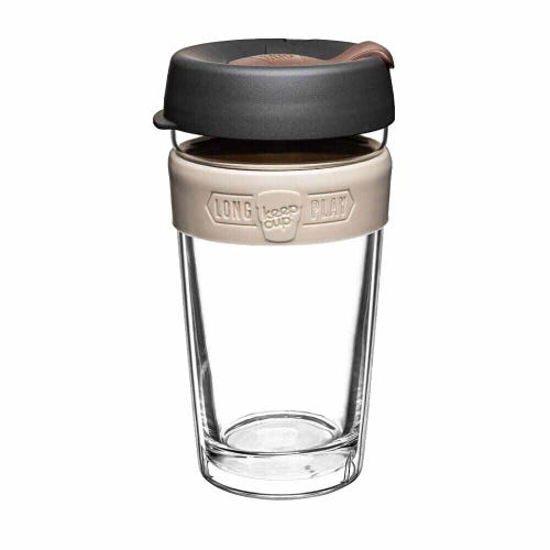 KeepCup LongPlay Glass Coffee Cup - Syphon (16oz)