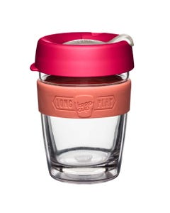 KeepCup LongPlay Glass Coffee Cup - Amaryllis