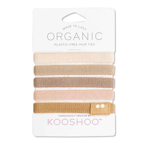 Kooshoo Certified Organic Hair Ties - Blonde