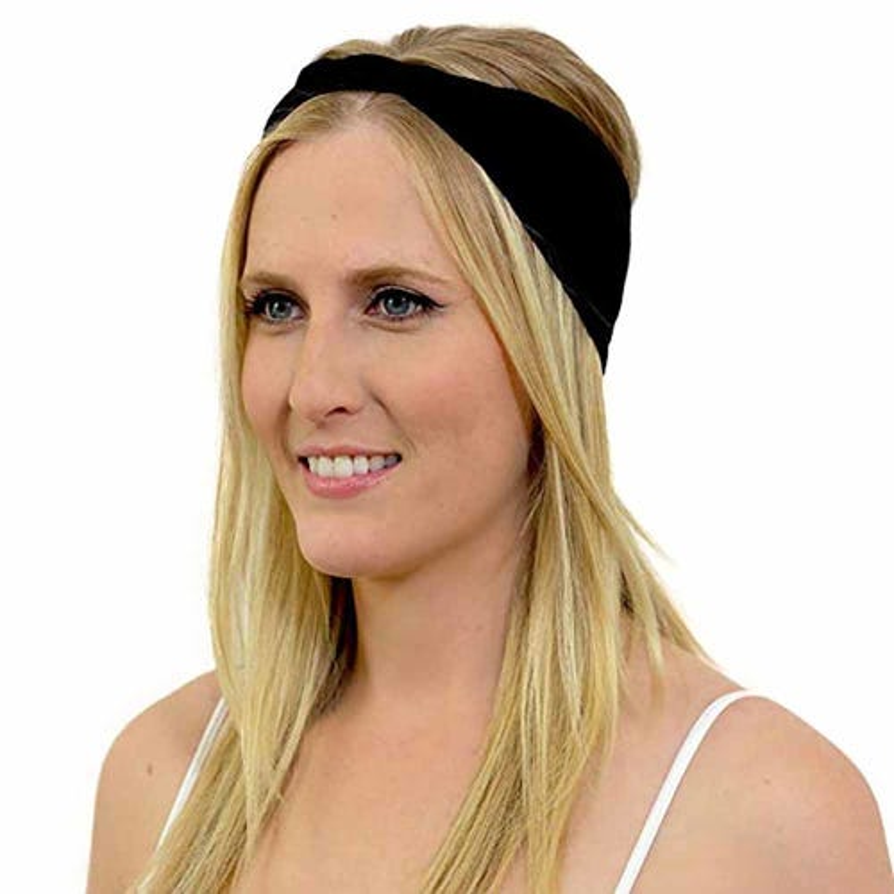 Kooshoo Organic Cotton Twist Headband - Black