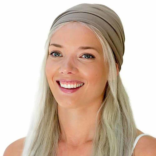 Kooshoo Organic Cotton Twist Headband - Walnut