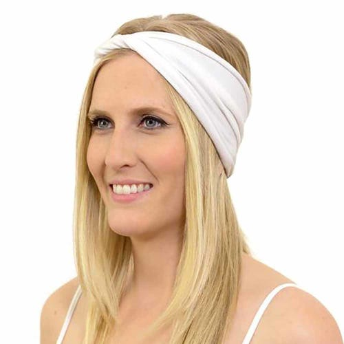 Kooshoo Organic Cotton Twist Headband - White