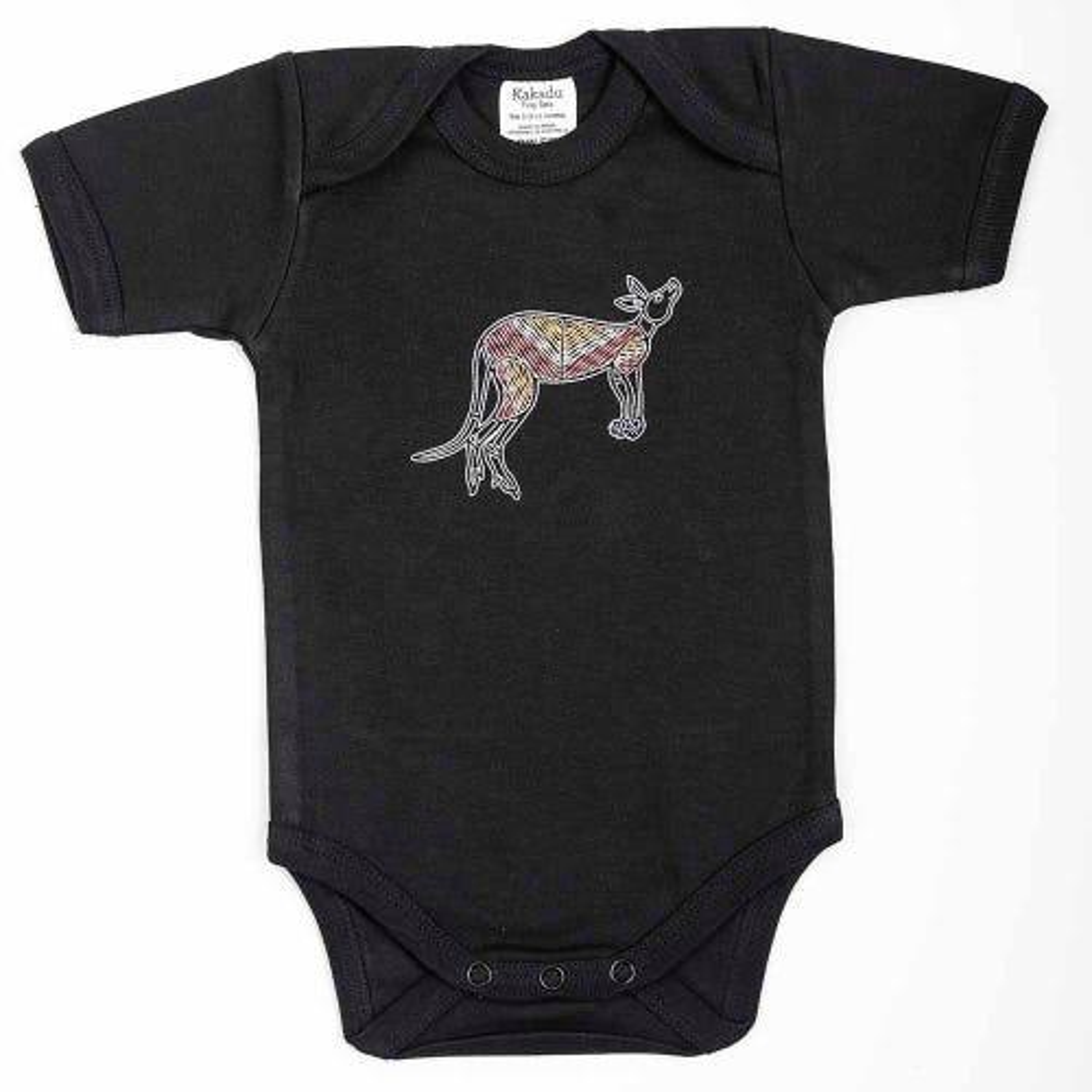 Kangaroo Dreaming Jumpsuit Black 3-6 months