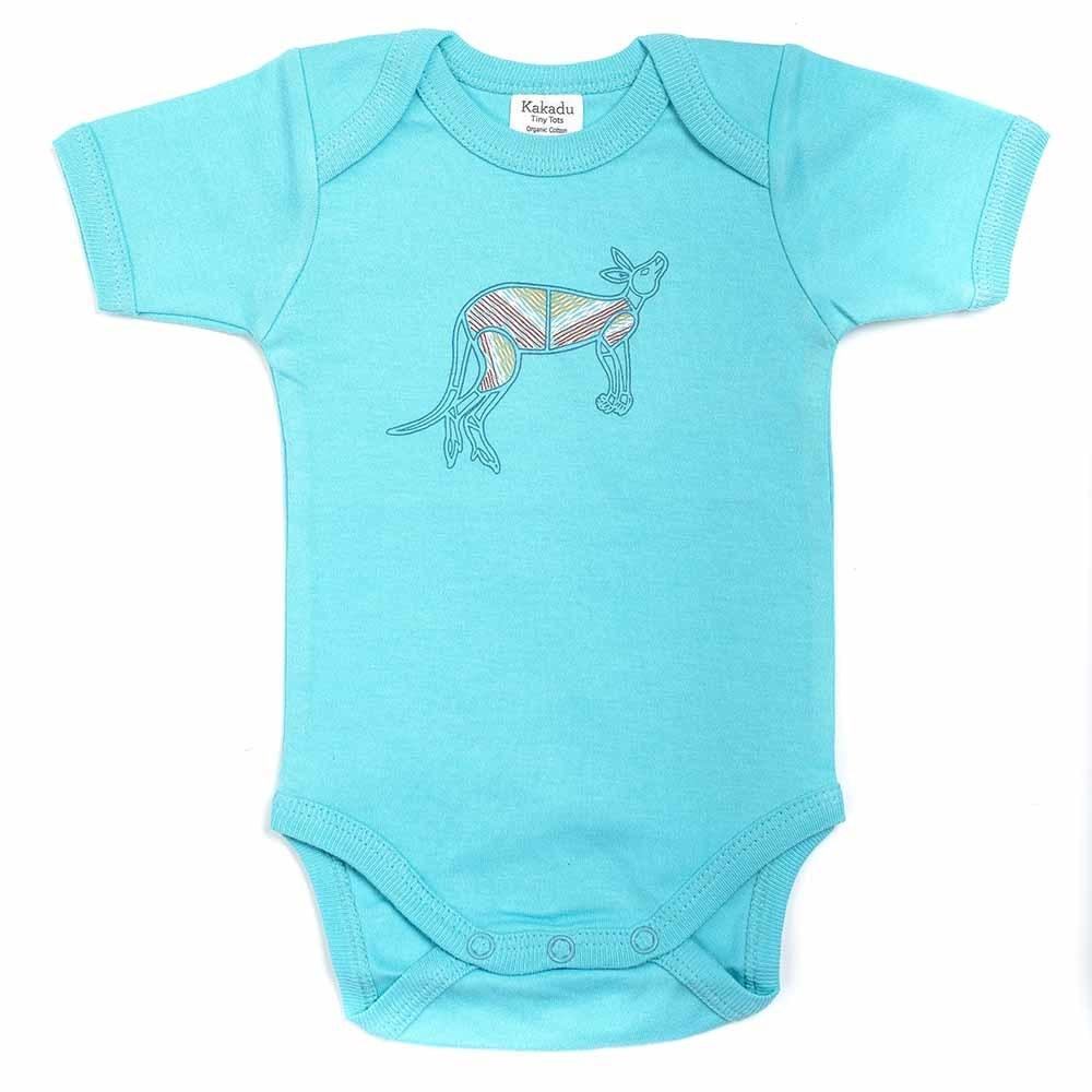 Kangaroo Dreaming Jumpsuit Blue 3-6 months