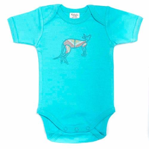 Kangaroo Dreaming Jumpsuit Blue 6-12 months