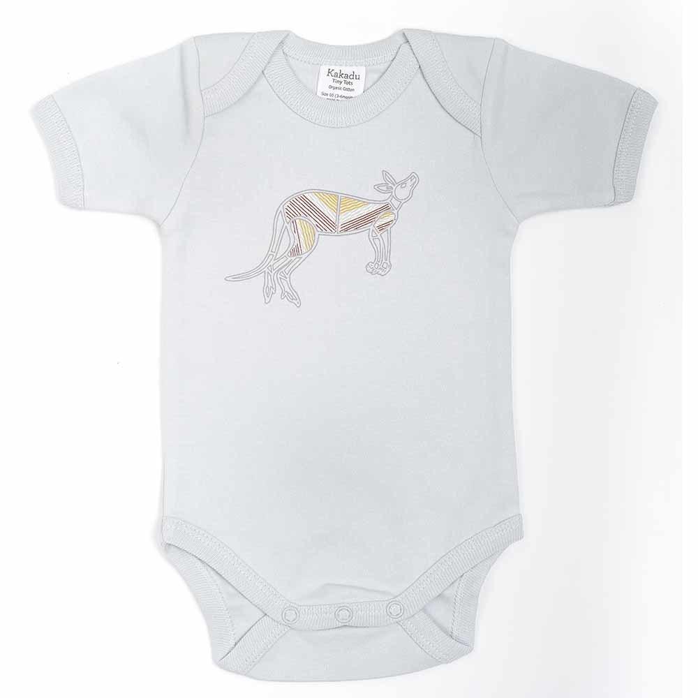 Kangaroo Dreaming Jumpsuit Grey 0-3 months