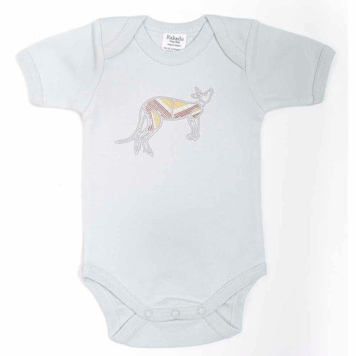 Kangaroo Dreaming Jumpsuit Grey 6-12 months