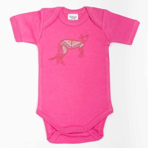 Kangaroo Dreaming Jumpsuit Pink 0-3 months