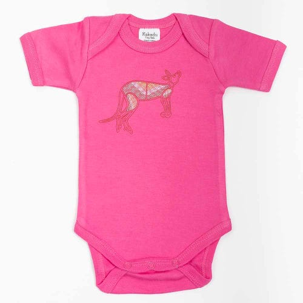 Kangaroo Dreaming Jumpsuit Pink 3-6 months