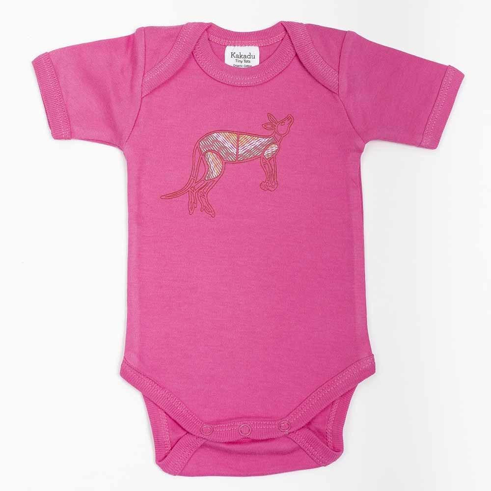Kangaroo Dreaming Jumpsuit Pink 6-12 months