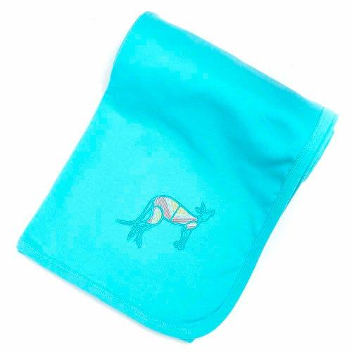Kangaroo Dreaming Baby Wrap Blue