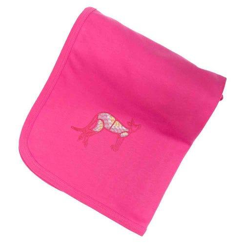 Kangaroo Dreaming Baby Wrap Pink
