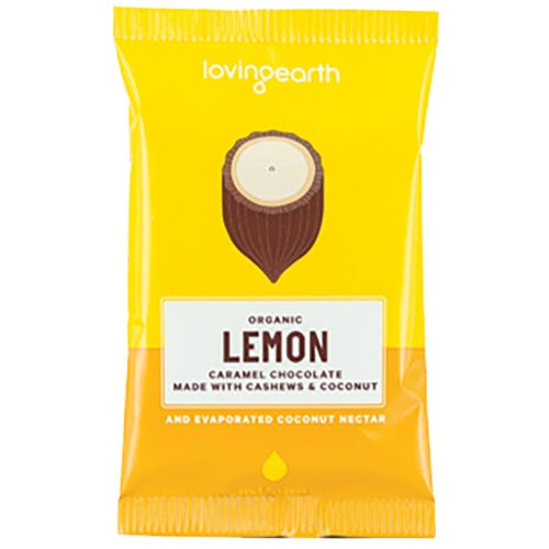 Loving Earth Lemon Cheesecake Caramel Chocolate (30g)