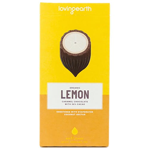 Loving Earth Lemon Cheesecake Caramel Chocolate (80g)