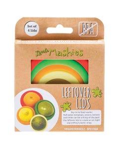 Little Mashies Reusable Leftover Lids Set (4 Pack) | Flora & Fauna Australia
