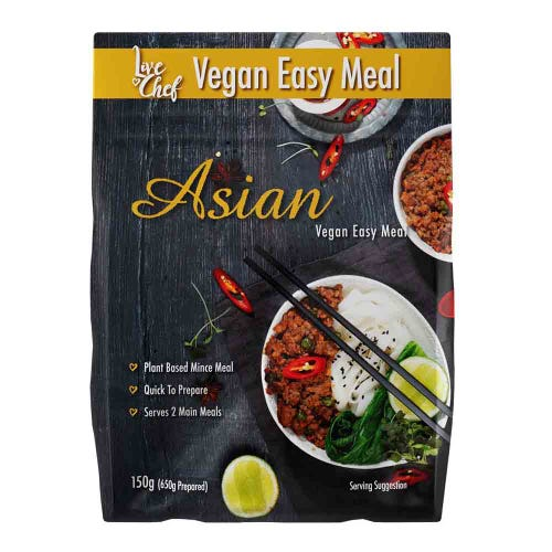 Live Chef Asian Vegan Easy Meal