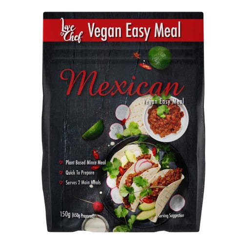 Live Chef Mexican Vegan Easy Meal