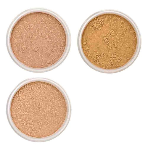 Lily Lolo Foundation Sample Set - Tan/ Dark (3 x 0.75g pots)