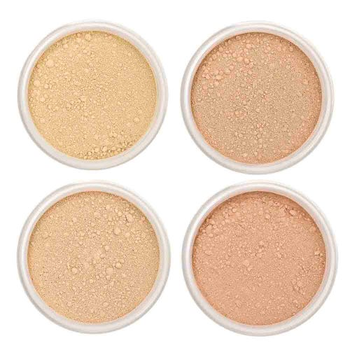 Lily Lolo Foundation Sample Set - Medium (4 x 0.75g pots)