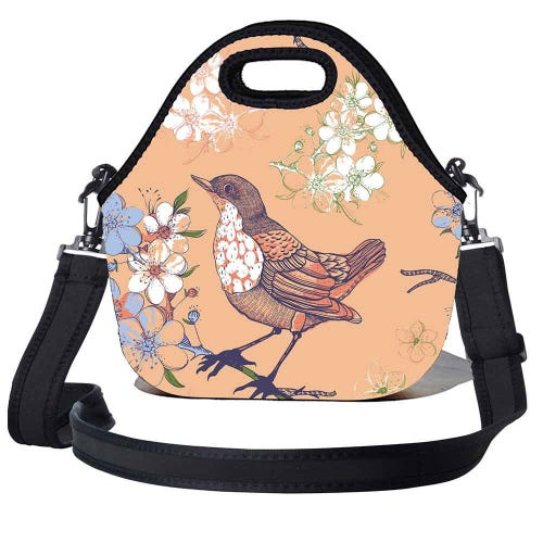 BBBYO Kids Lunch Bag with Strap - Sparrow