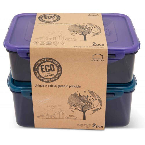 Lock & Lock Eco Storage Container - 2 Piece Set