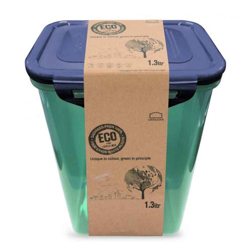 Lock & Lock Eco Storage Container - Rectangular 1.3L
