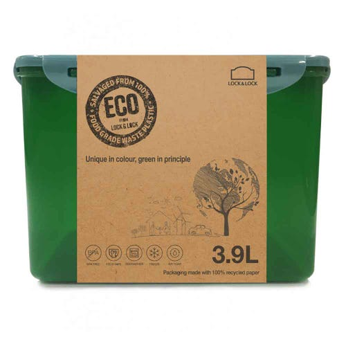 Lock & Lock Eco Storage Container - Rectangular 3.9L
