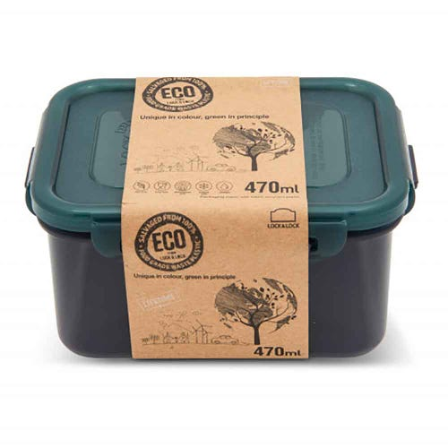 Lock & Lock Eco Storage Container - Rectangular 470ml