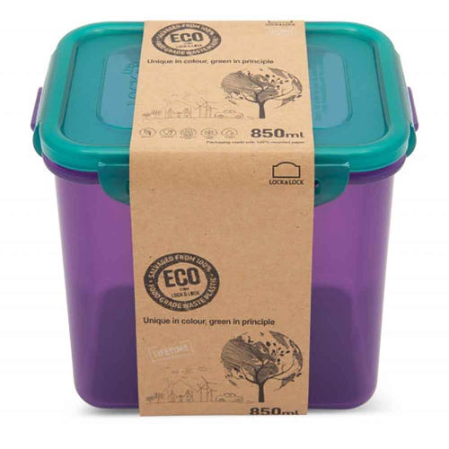 Lock & Lock Eco Storage Container - Rectangular 850ml